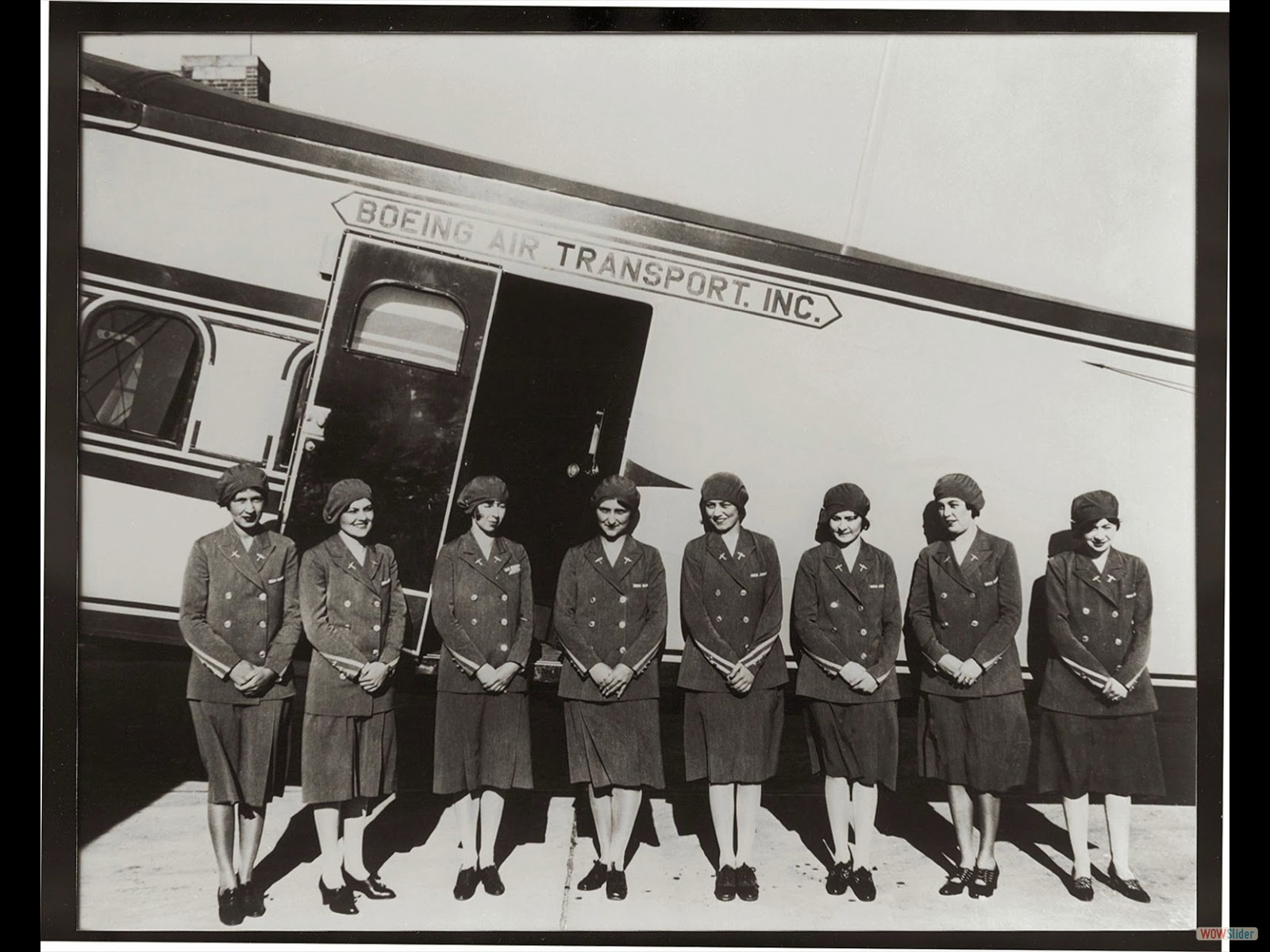 The First Stewardesses