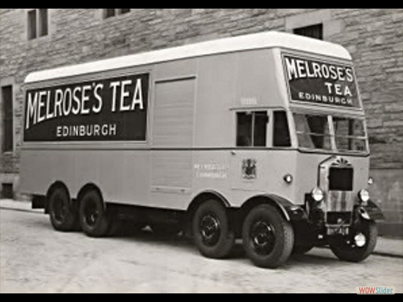 Melrose Tea delivery van