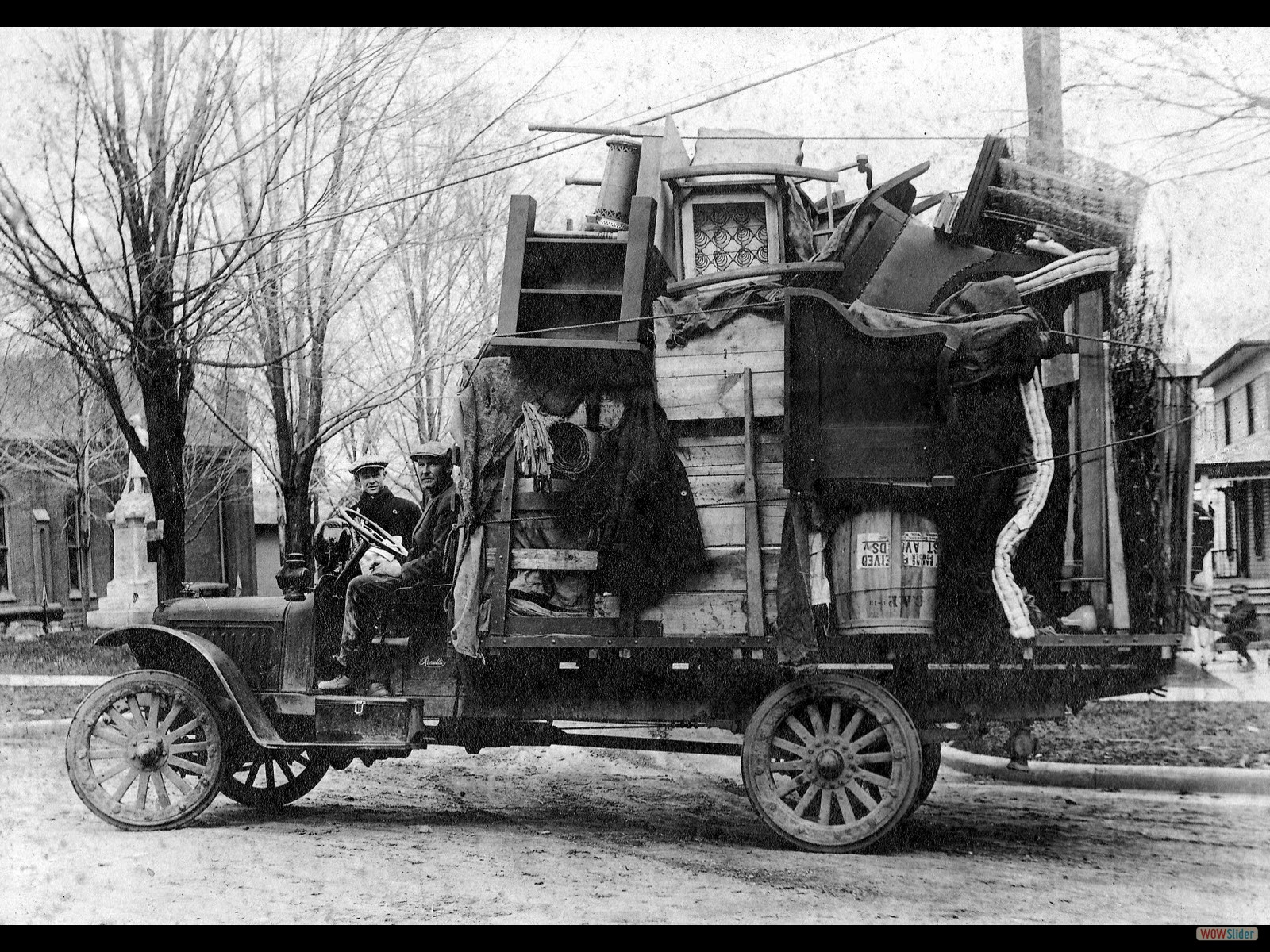 Moving Day 1920's